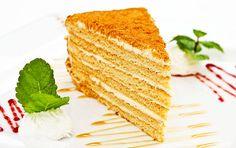 Wedding birthday cakes - Popular recipes for baking masters Hungarian Recipes, Russian Recipes, Unique Recipes, Sweet Recipes, Baking Recipes, Cake Recipes, Russian Honey Cake, Cake Decorating Courses, Prague