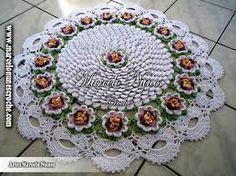 imagens e graficos de flores de croche - Pesquisa Google