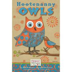 Hootenanny Owls 2015 Weekly Planner: 9781416296393   Mumm   Calendars.com