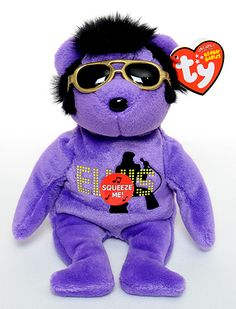 Your Teddy Bear (purple) - Ty Beanie Babies