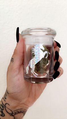 Unicorn Stash Jar from www.shopstaywild.com