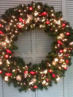 4 Foot (48 inch) Christmas Magic Wreath | Christmas | Pinterest ...
