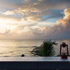 Views @driftloungebarbados - - #nwpcaribbean #barbados #beach #sunset #holetown #islandlife #caribbeansea