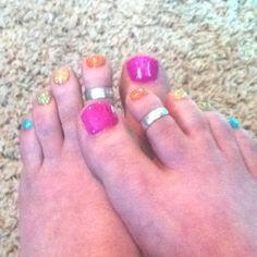 summer fun sherbet toes :)