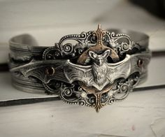 Vampire Hunter Aged Silver and Aged Brass by HarlequinRomantique