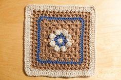 Loopsan: One Block a Week CAL: Week 4 Basket of Berries by Melinda Miller with pattern link.