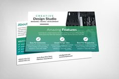 Creative Business Postcards by Party Flyers on @Graphicsauthor