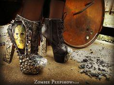 Michael Myers « Halloween » cloutés bottines talons