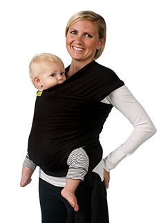 Boba Baby Wrap, Black, 0-36 Months Boba, bestselling baby item on Amazon.com #AmazonPrime || Adding this to your personal baby registry has never been easier. https://www.amazon.com/baby-reg/homepage?ref=tsm_1_pi_s_amzn_babreg1