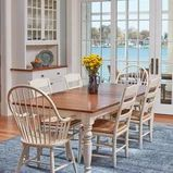 Dining area on Annapolis waterfront - Dining Room - Baltimore - by Melissa McLay Interiors Dining Area, Dining Room, Dining Table, Florida Decorating, Outdoor Furniture, Outdoor Decor, Baltimore, Interiors, Home Decor