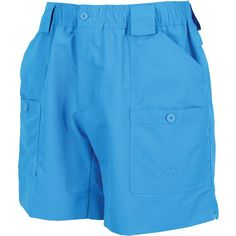 """The """"Original"""" AFTCO short. Introduced in 1989 and the choice of serious fishermen worldwide, the men's M01 fishing short is constructed of DuPont™ SUPPLEX® 3-p"""