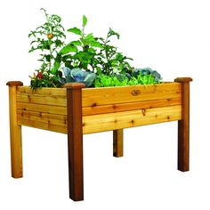 34 in. x 48 in. x 32 in. Safe Finish Elevated Garden Bed, Finished With Cedar Garden Bed Oil
