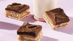 Chocolate-Caramel-Cracker Bars