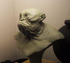 Troll-yeti bust 2 by BOULARIS.deviantart.com on @deviantART
