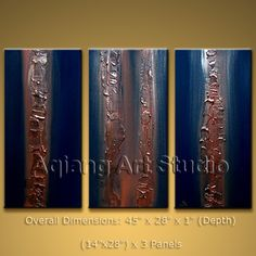 ORIGINAL LARGE FRAMED Oil Painting Modern Abstract Textured Wall Art Decor BoYi $132.00 . More paintings available from eBay store http://stores.ebay.com/Oriental-Arts-And-Crafts/