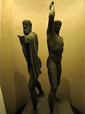 Harmodius and Aristogeiton (sculpture) - Wikipedia, the free encyclopedia