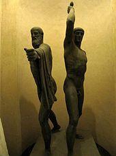 Harmodius and Aristogeiton (sculpture) - Wikipedia, the free encyclopedia