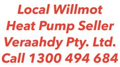 Heat Pumps Willmot