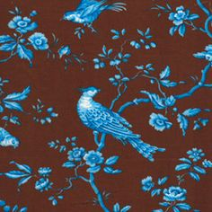 Jennifer Paganelli - Matilda Cocoa West Indies Fabric - PWJP054