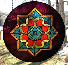 Eight-Pointed Star - from Delphi Artist Gallery by Amberglass Studio