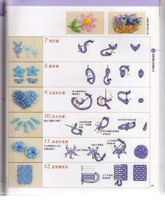 giftjap.info - Интернет-магазин | Japanese book and magazine handicrafts - Technigue 200 Ribbon embroidery