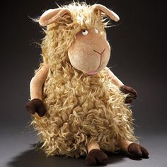 funny soft toy, sheep, Hairy Queen, sigikid Beasts series