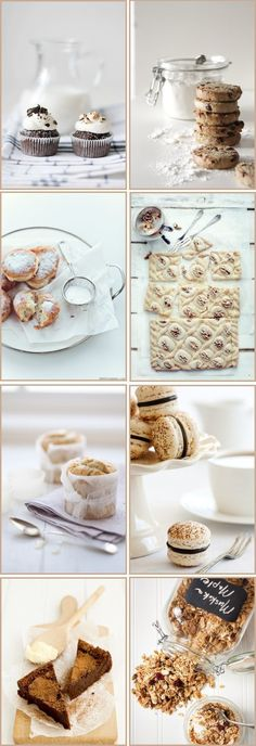food photography in white