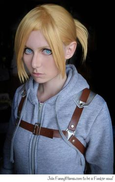 Best. Annie. Leonhardt. Cosplay. EVER. She even got the nose right!!!