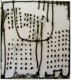 Terri Brooks  oil, enamel and pencil on canvas