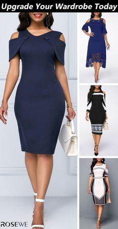 Women S Fashion Dresses Short African Dresses, Latest African Fashion Dresses, Women's Fashion Dresses, Dress Outfits, Dresses Dresses, Classy Work Outfits, Classy Dress, Elegant Dresses, Ideias Fashion