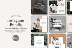 Social Media Templates ~ Page 2 ~ Creative Market Tips Instagram, Photo Instagram, Instagram Feed, Instagram Posts, Facebook Instagram, Instagram Layouts, Instagram Frame, Instagram Quotes, Instagram Story