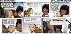Boondocks Comics ArcaMax Publishing