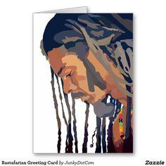 #Rastafarian Greeting Card - June 29 #jamaica