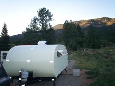 Make: Projects  Teardrop Camper Trailer    With this project I tried to recreate a 1930s-style teardrop camper trailer.