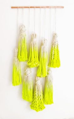 = To John Denver With Love Macrame Tassel Wall Hanging = Tamara Maynes