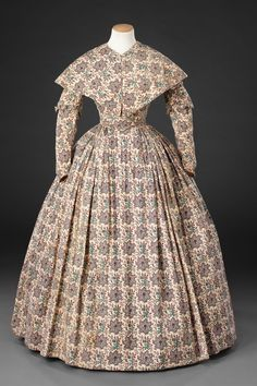 Dress and pelerine, British, 1840's. The John Bright Collection, nr. ?