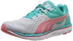 Puma FAAS 500 V3 Women\u0027s Running Shoes - 6.5 - Green PUMA http://