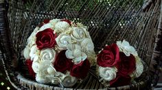Deep red sola bridal bouquet | Rustic bridal bouquet | red sola bouquet | Rustic wedding | red rose bouquet | alternative bouquet | Red Rose Bouquet, Flower Bouquets, Rustic Red Wedding, Rustic Bridal Bouquets, Alternative Bouquet, Sola Flowers, Red Roses, Deep, Etsy