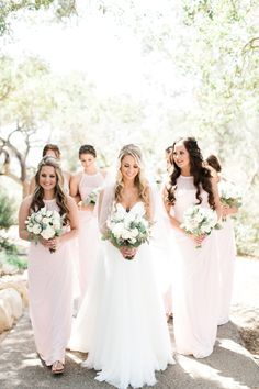 We're Blushing Over How Gorgeous This Dreamy Pink Wedding Is