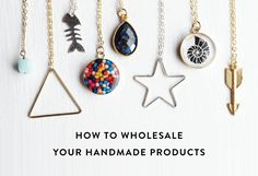A guide to successfully selling your products wholesale to retailers - Craftsposure. | www.craftsposure.com