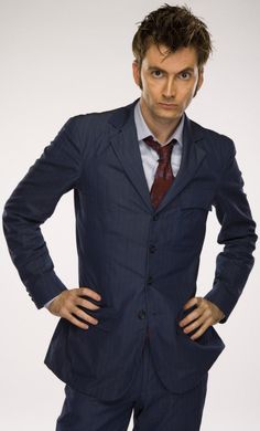 DavidTennant #BlueSuit #DoctorWho #TimeLord