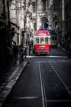 Free Image on Pixabay - Tram, Portugal, Transport Portugal Travel Guide, Europe Travel Guide, Travel Guides, Week End En Amoureux, Best Places To Travel, Free Pictures, Where To Go, The Good Place, Transportation