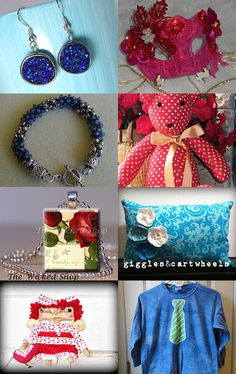 Roses are Red Violets are Blue by Amy Roe on Etsy--Pinned with TreasuryPin.com