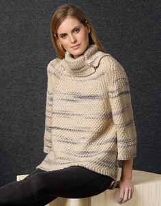 Book Woman Concept 1 Autumn / Winter | 45: Woman Sweater | Beige-Grey