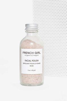 FRENCH GIRL ORGANICS  Vegan Rose Facial Polish