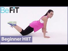 Post Natal Beginners HIIT Training Workout: Moms into Fitness with Lindsay Brin is an explosive 10 minute interval training workout that is designed to ramp ...