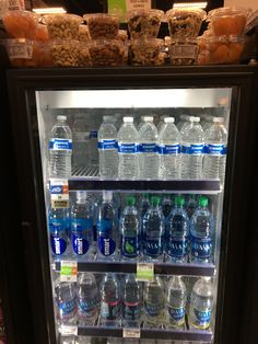 This is what a checkout cooler should look like. Water and seltzer for the win! Lehi Utah, Made Goods, Water Bottle, Fruit, Drinks, Healthy, The Fruit, Water Bottles, Drink