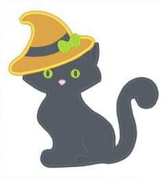 Designs :: Occasions :: Halloween :: Cat Witch