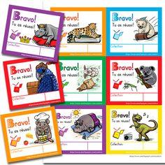 plein de ressources gratuites à imprimer Cartes de collection (de livrets)
