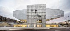 Castelo Branco Cultural Centre by Mateo Arquitectura in Castelo Branco, Portugal